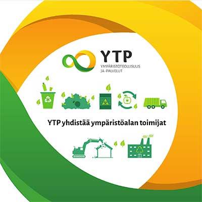 Ympäristöteollisuus ja -palvelut YTP ry esite